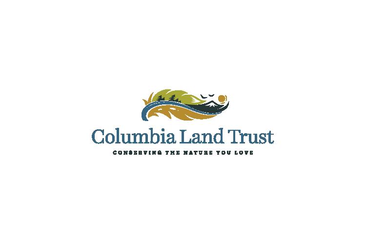 Columbia Land Trust logo design