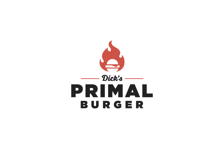 Primal Burger logo design