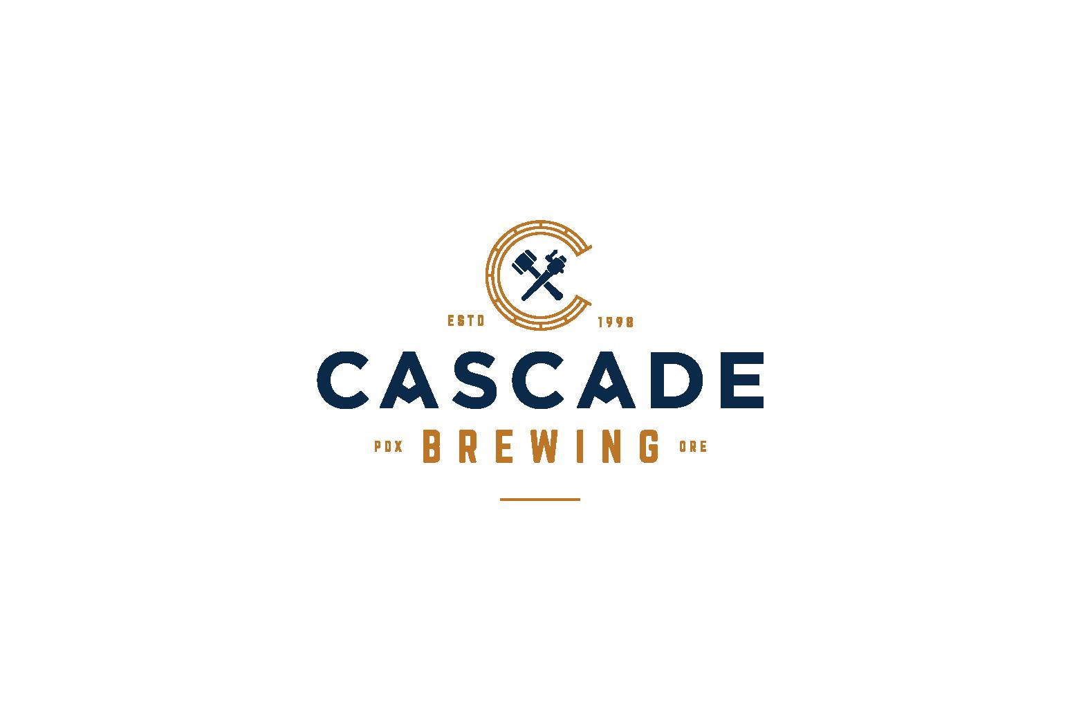 Cascade Brewing Logo Design