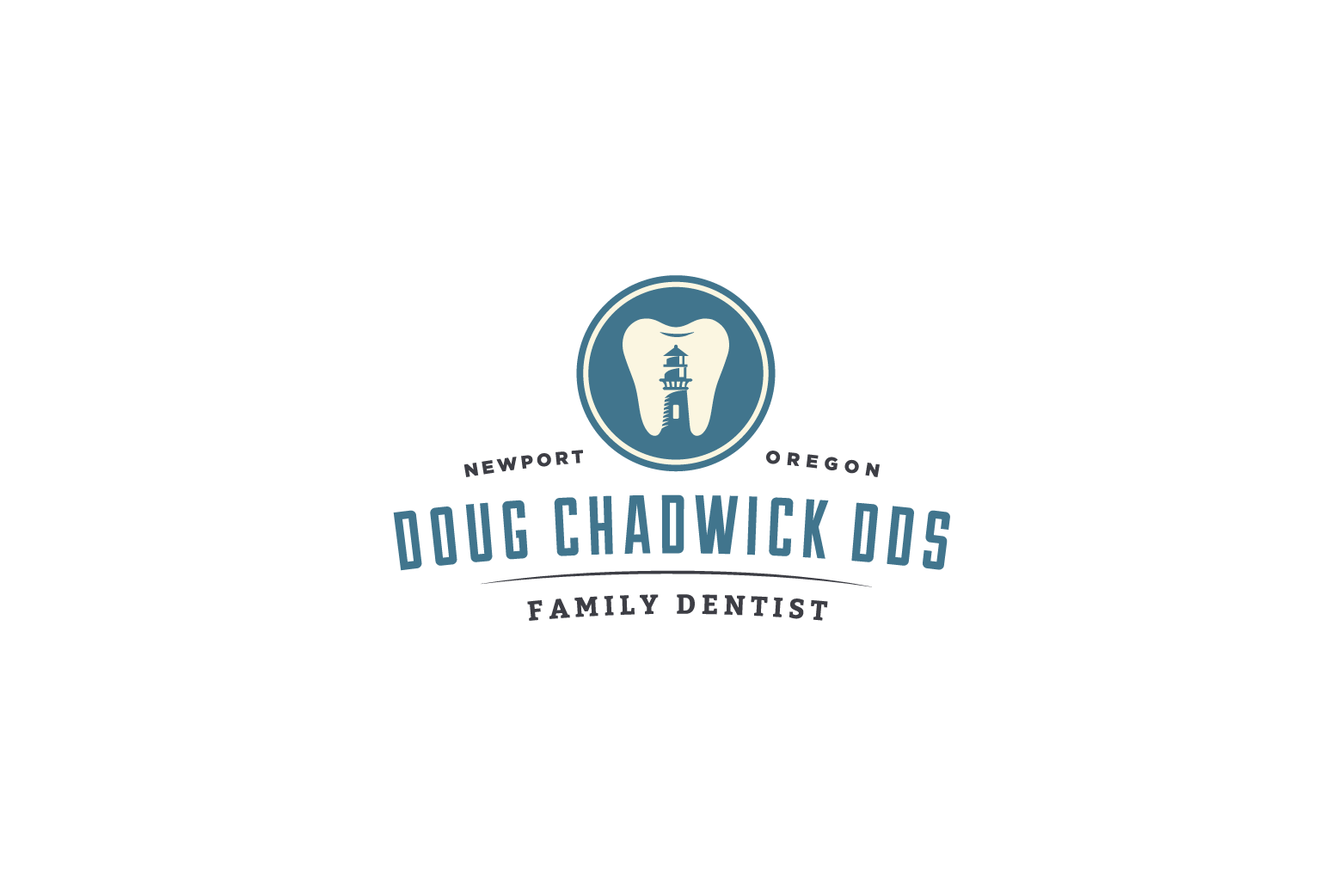 Doug Chadwick Dentist Logo Design