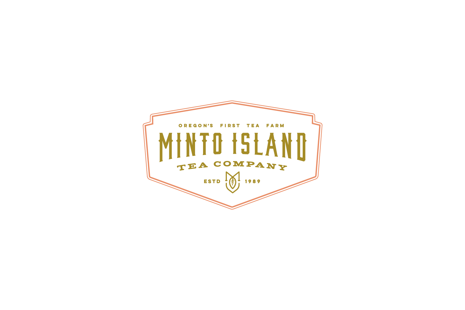 Minto Island Tea logo design