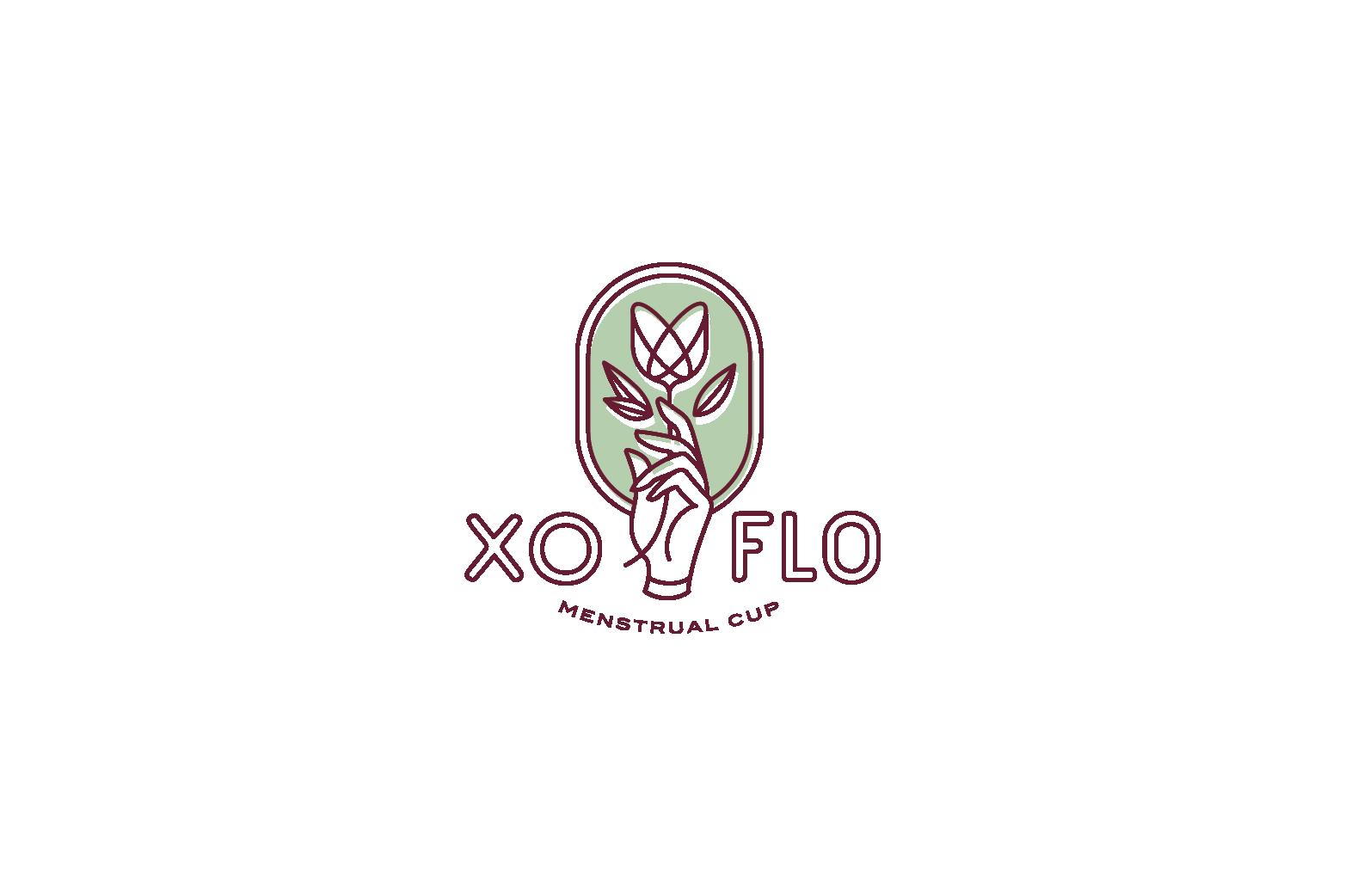 XO Flo Logo Design