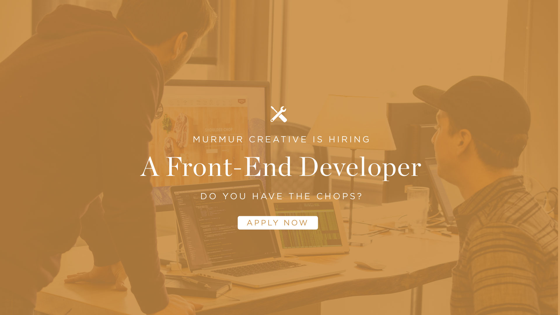Murmur Front End Developer Computers