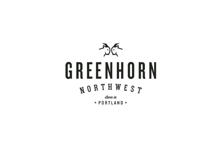 Greenhorn NW logo design