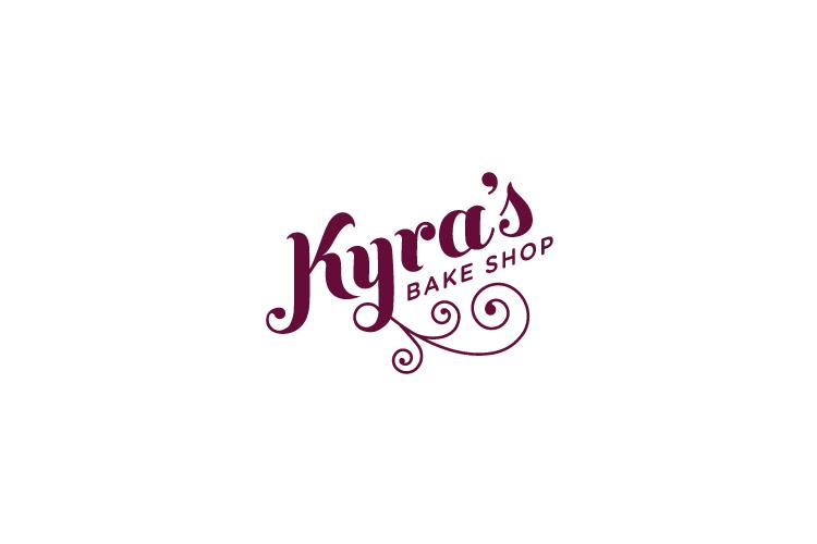 Kyra's Bakeshop logo design