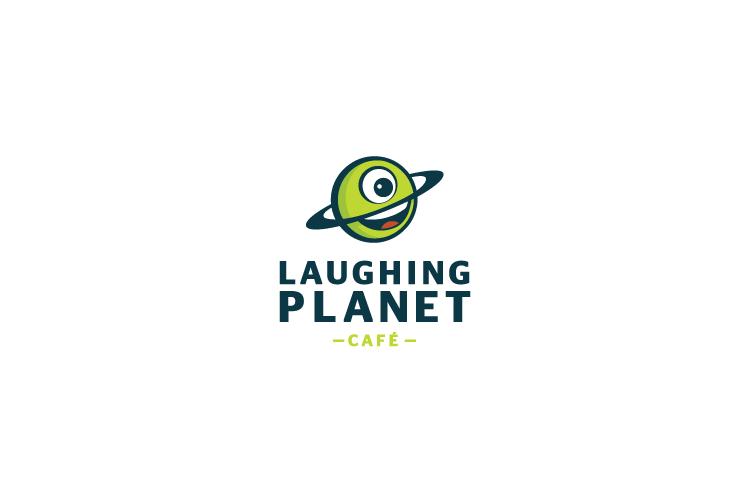 Laughing Planet logo design