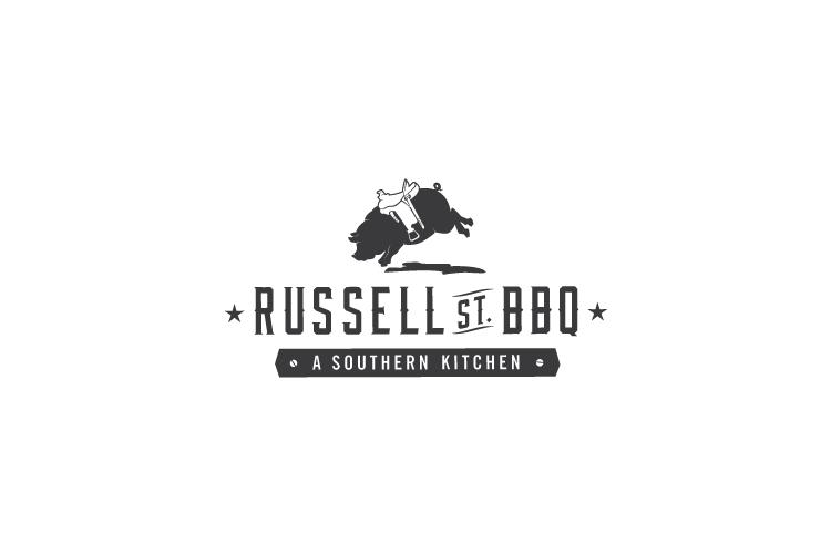 Russell Street BBQ logo design