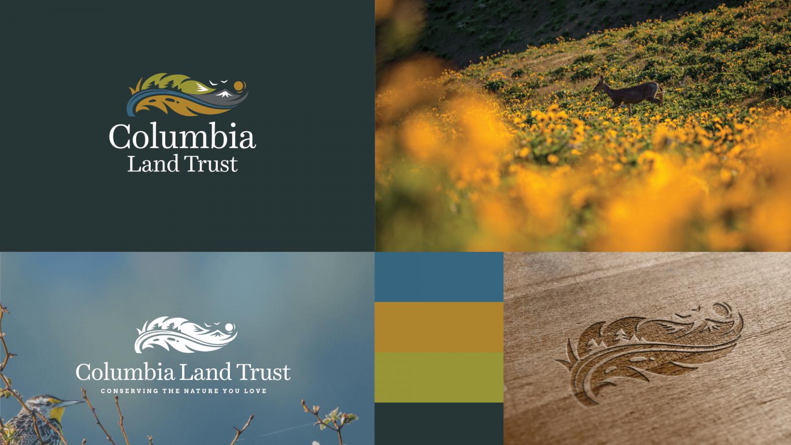 Columbia Land Trust Brand