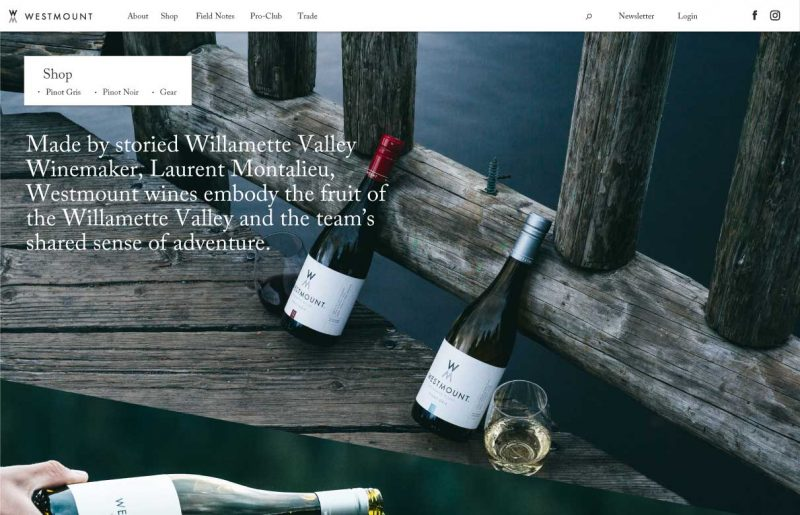 westmount-wine-website-design-shop-page-desktop