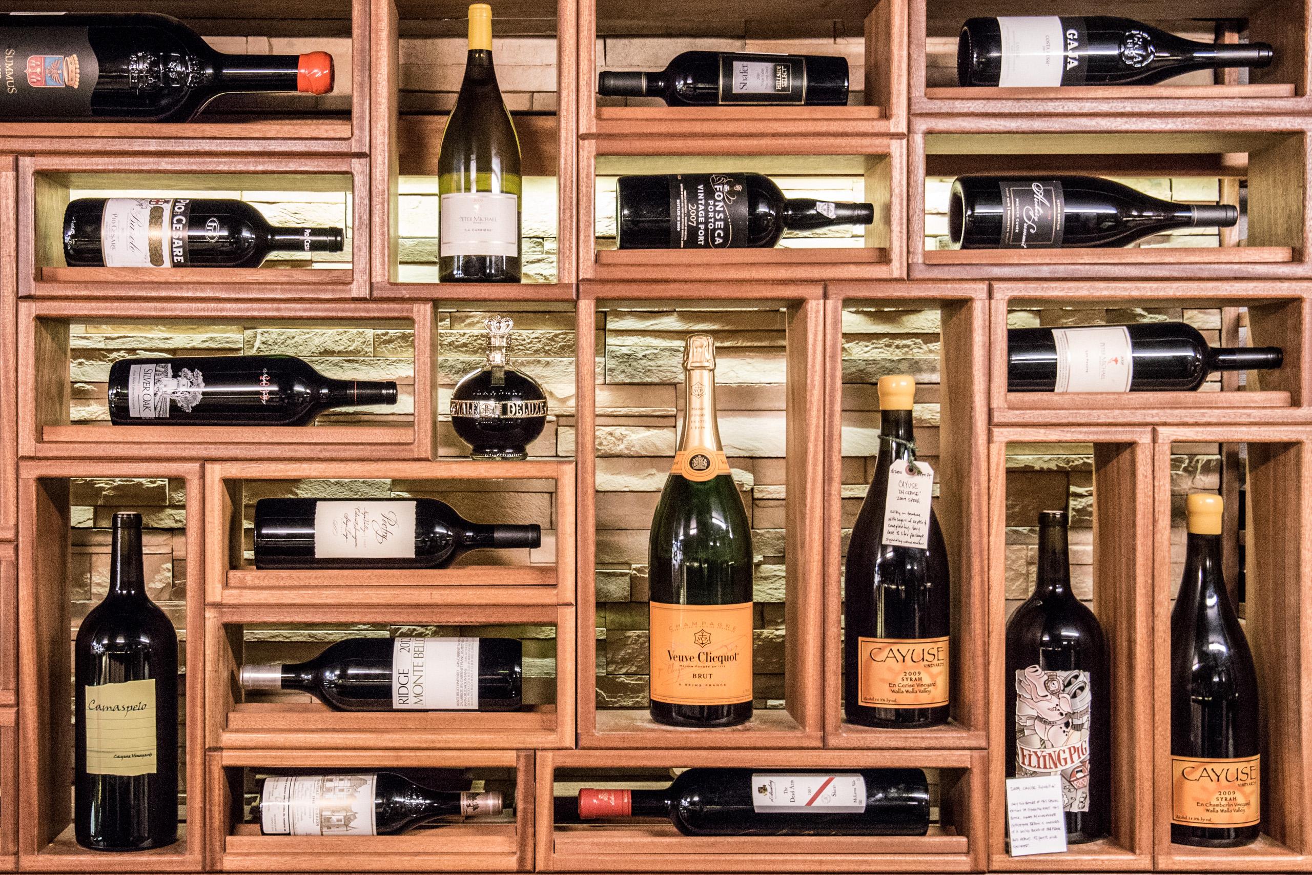 Zupan's Wine Shelf