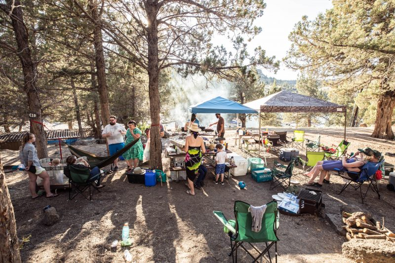 murmur camping 2017 In the shade