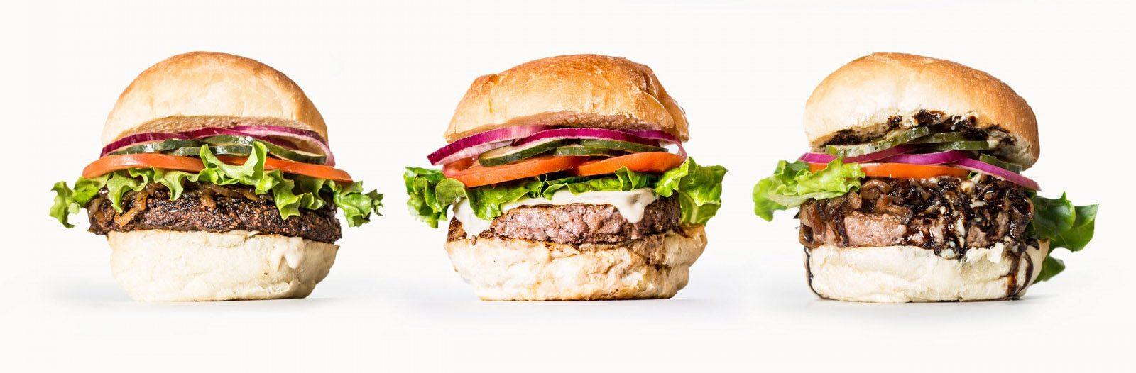 Primal Burger food photography