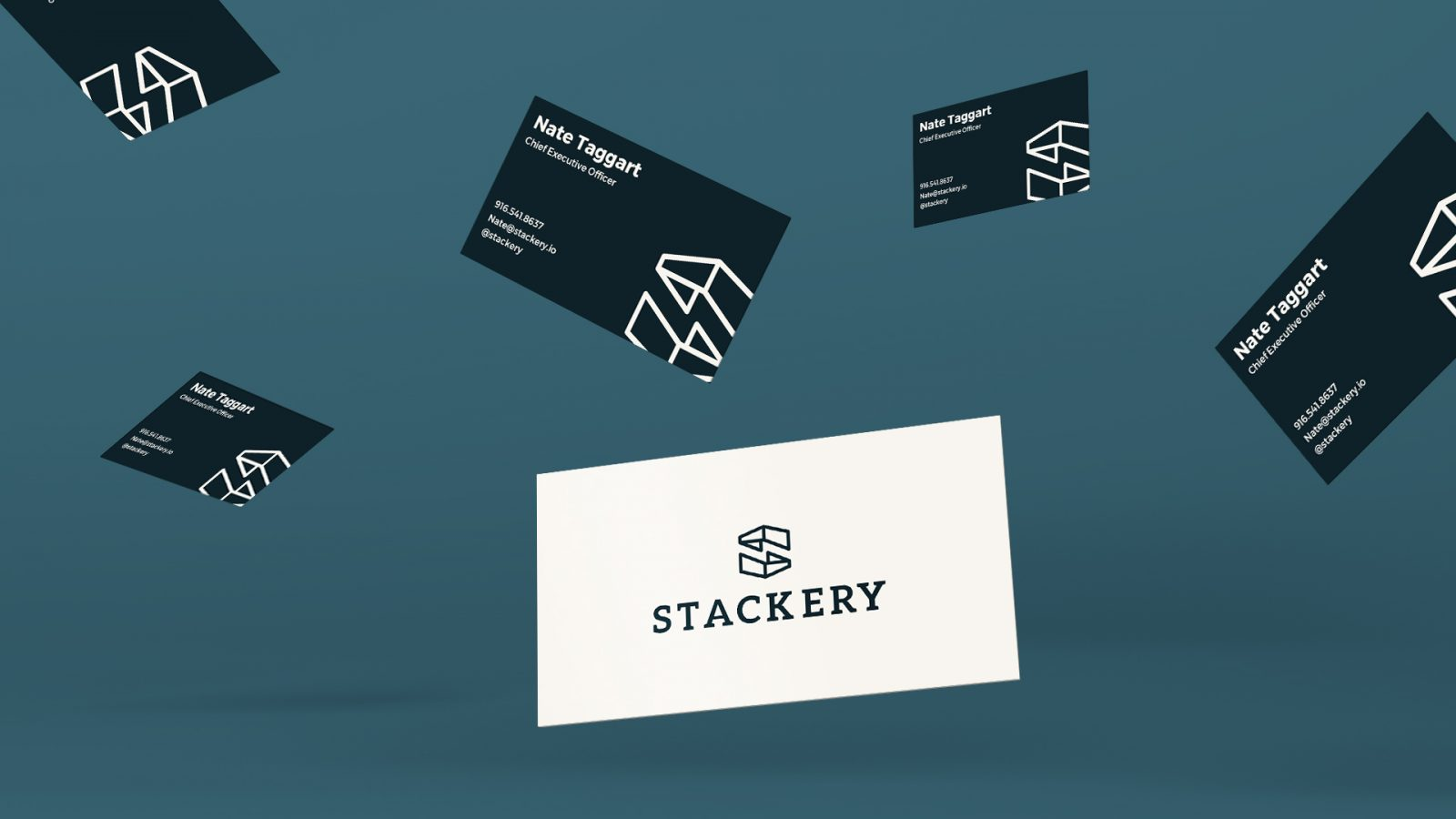 Stackery business cards