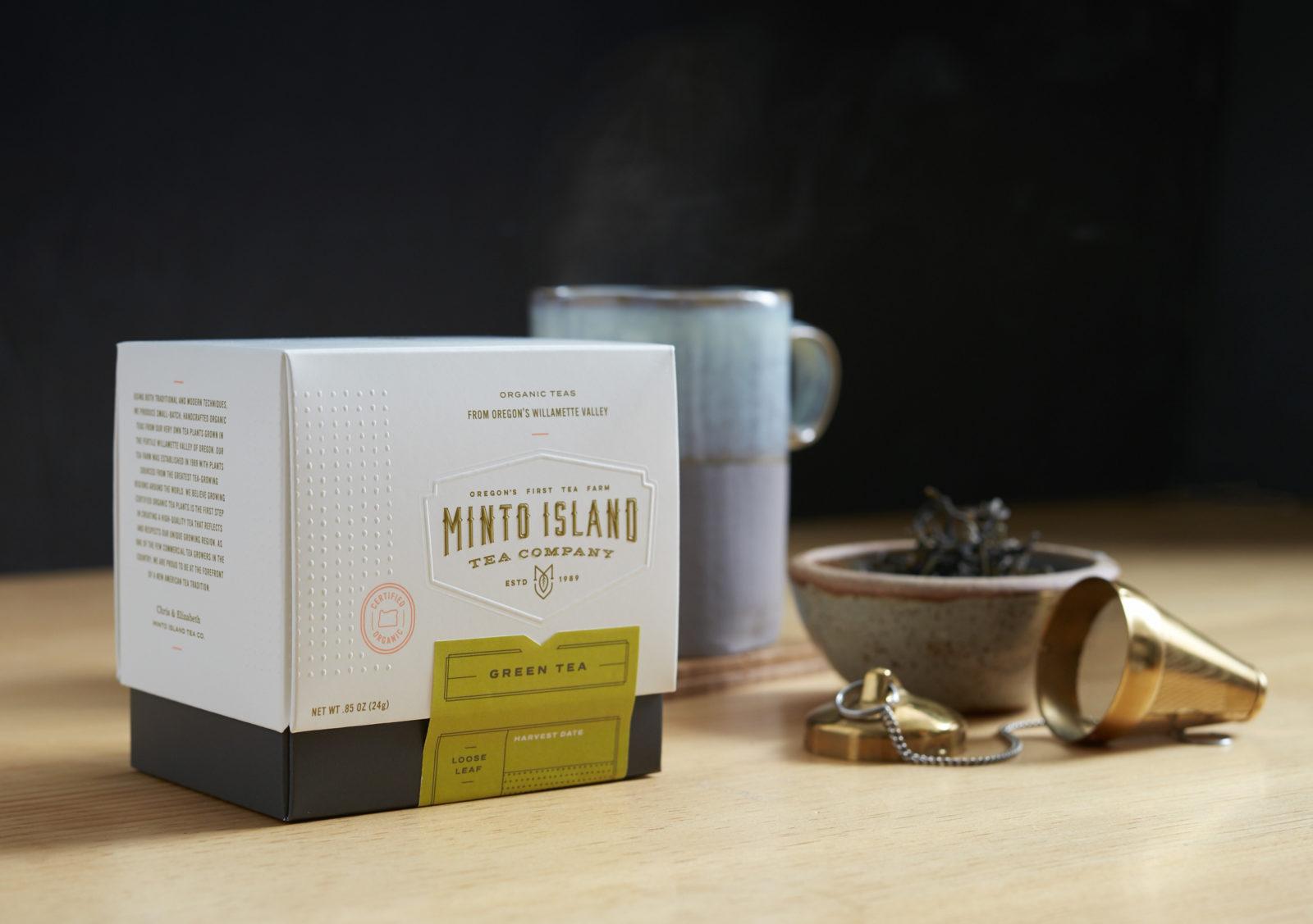 Monto Island Tea Packaging Design