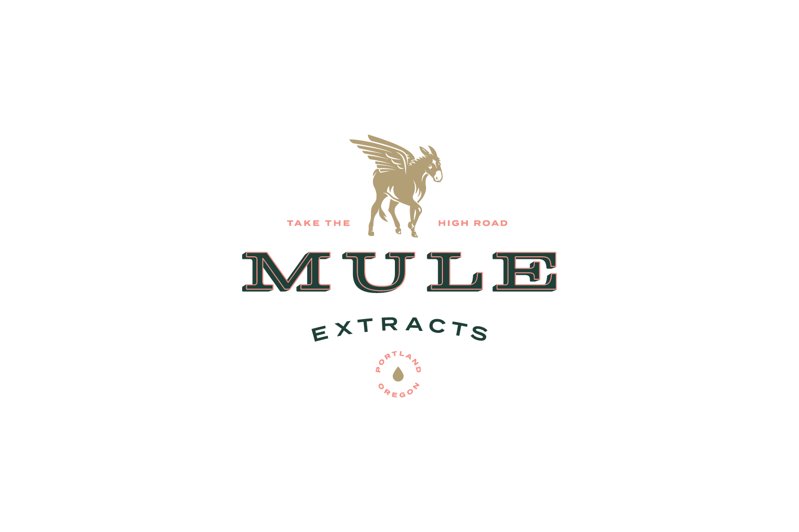 Mule Extracts logo design