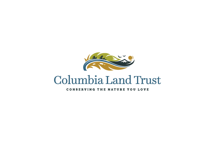 Columbia Land Trust logo design