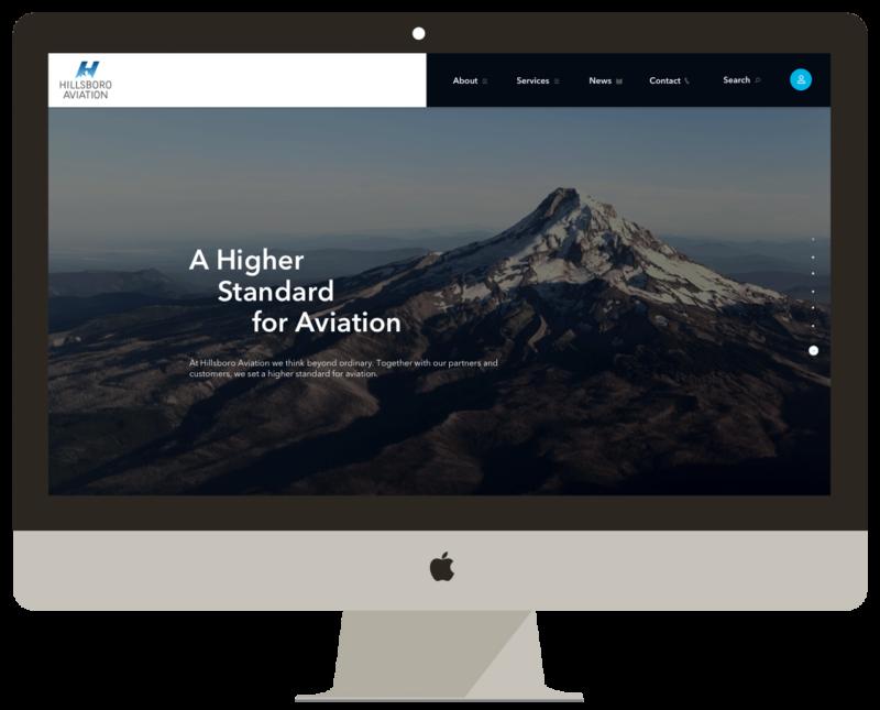 Hillsboro Aviation Web Design