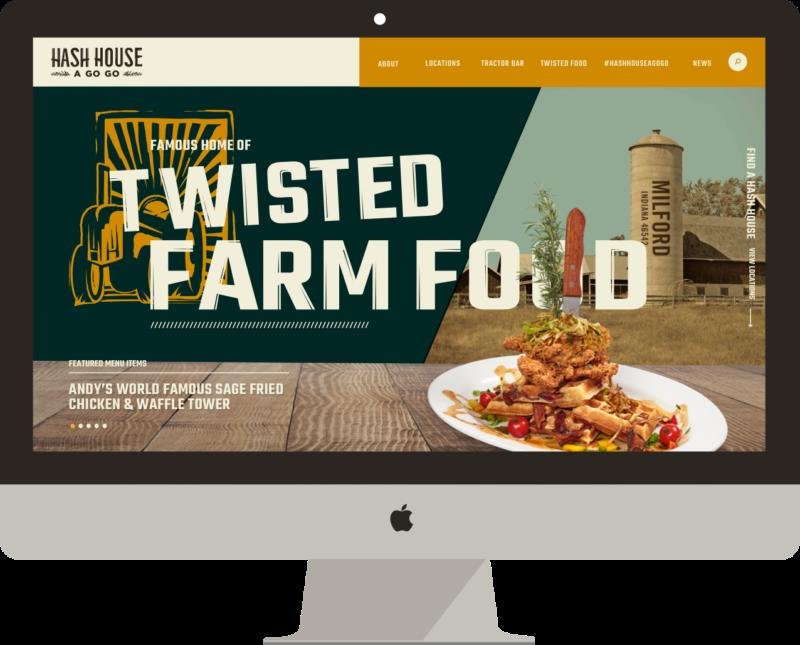 Hash House A Go Go Website Design